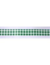 """Бумажный скотч с принтом SCB 138026 """"Зеленая клеточка крупная"""", 15 мм, длина 8м, ScrapBerry's"""