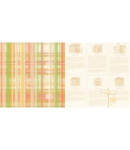 Бумага двухсторонняя для скрапбукинга Webster's Pages, The Journey, 30х30 см
