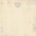 Бумага для скрапбукинга двухсторонняя Authentique, BEY002 Pledge, 30,5х30,5 см