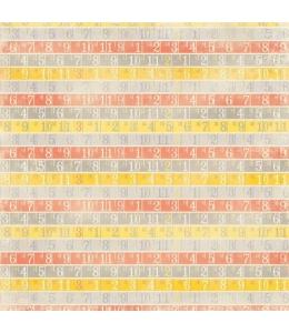 Бумага для скрапбукинга двухсторонняя Authentique, BEY005 Abundant, 30,5х30,5 см
