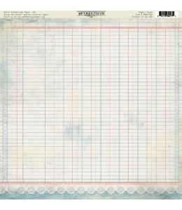 Бумага для скрапбукинга односторонняя Authentique, FRE005 Light, 30,5х30,5 см