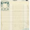 Бумага для скрапбукинга односторонняя Authentique, LOY004 Devoted, 30,5х30,5 см