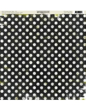 Бумага для скрапбукинга односторонняя Authentique, NOSS016 Flourish, 30,5х30,5 см