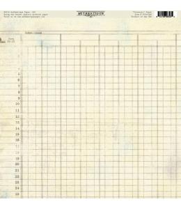 Бумага для скрапбукинга односторонняя Authentique, PJO005 Itinerary, 30,5х30,5 см