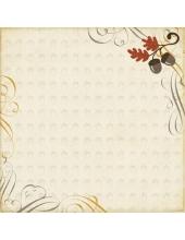 Бумага двухсторонняя для скрапбукинга Echo Park Paper RF53002, Harvest Morning, 30х30 см