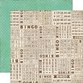 Бумага двухсторонняя для скрапбукинга Echo Park Paper CM37008, Bingo, 30х30 см