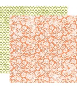 Бумага двухсторонняя для скрапбукинга Echo Park Paper VG17007, Blooming Blossoms, 30х30 см