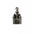 """Подвеска металлическая для скрапбукинга """"Сказочный замок"""", 14х28 мм, цвет античное серебро, ScrapBerry's"""
