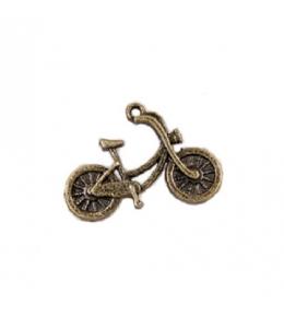 """Подвеска металлическая для скрапбукинга """"Мотоцикл"""", 20х26 мм, цвет античная бронза, ScrapBerry's"""