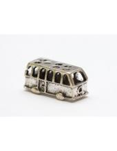 """Подвеска металлическая для скрапбукинга """"Автобус"""", 3D, 11х17 мм, античное серебро, ScrapBerry's"""
