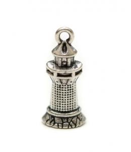 """Подвеска металлическая для скрапбукинга """"Маяк"""", 3D, 6х20 мм, цвет античное серебро, ScrapBerry's"""