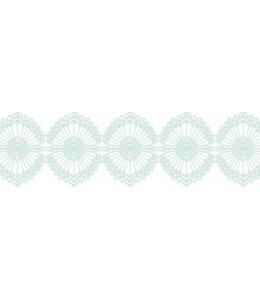 """Бумажный скотч с принтом """"Воздушное кружево"""", 15 мм, длина 8 м, ScrapBerry's"""