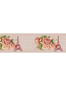 """Бумажный скотч с принтом """"Эйфелева башня"""", 15 мм, длина 8 м, ScrapBerry's"""