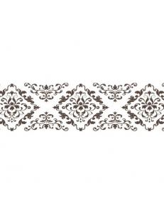 """Бумажный скотч с принтом """"Французские узоры"""", 15 мм, длина 8 м, ScrapBerry's"""