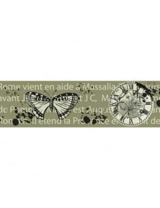 """Бумажный скотч с принтом """"Время бабочек"""", 15 мм, длина 8 м, ScrapBerry's"""