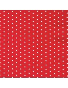 """Салфетка для декупажа """"Горох красно-белый"""", 33х33 см, Германия"""