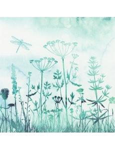 """Салфетка для декупажа """"Полевые травы"""", 33х33 см, Германия"""
