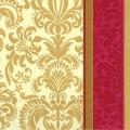 """Салфетка для декупажа IHR-201045 """"Золотой орнамент"""", 33х33 см, Германия"""