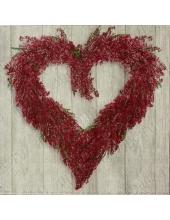 "Салфетка для декупажа IHR-201074 ""Лавандовое сердце"", 33х33 см, Германия"