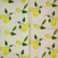 "Салфетка для декупажа IHR-201103 ""Веточка лимона"", 33х33 см, Германия"
