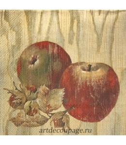 """Салфетка для декупажа IHR-201211 """"Яблоки и апельсины"""", 33х33 см, Германия"""