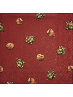 Салфетка для декупажа Лесной орех, 33х33 см, Германия