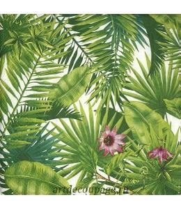 """Салфетка для декупажа IHR-201488 """"Тропические листья"""", 33х33 см, Германия"""