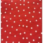 "Салфетка для декупажа IHR-102300 ""Звёздочки на красном"",  33х33 см, Германия"
