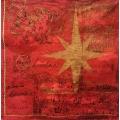 """Салфетка для декупажа IHR-102302 """"Рождественские звезды и ангелочки"""", 33х33 см, Германия"""
