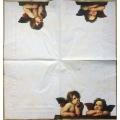 "Салфетка для декупажа IHR-102379 ""Ангелы Рафаэля"",  33х33 см, Германия"