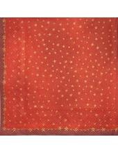 """Салфетка для декупажа IHR-102537 """"Золотые звезды на красном"""", 33х33 см, Германия"""