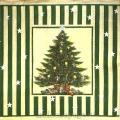 """Салфетка для декупажа IHR-102569 """"Новогодняя елка и подарки"""", 33х33 см, Германия"""
