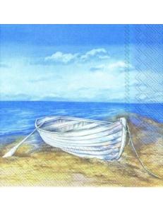 """Салфетка для декупажа IHR-310460 """"Отдых на бегегу моря"""", 33х33 см, Германия"""