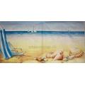 """Салфетка для декупажа IHR-310532 """"Отдых на пляже"""", 33х33 см, Германия"""