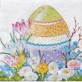 """Салфетка для декупажа IHR-310952 """"Пасхальное яйцо"""", 33х33 см, Германия"""