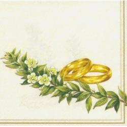 Свадебная и любовная тематика декупажных салфеток