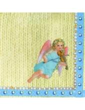 "Салфетка для декупажа, IHR-488700, ""Прелестный ангел"", 33х33 см, Германия"