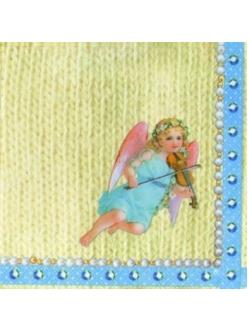 Салфетка для декупажа Прелестный ангел, 33х33 см, Германия