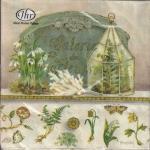 """Салфетка для декупажа, IHR-496160, """"Цветочная композиция"""", 33х33 см, Германия"""