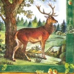 Салфетки для декупажа с животными, птицами и насекомыми