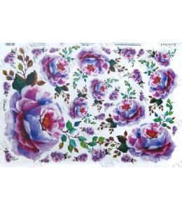 "Рисовая бумага Love2Art 0044, ""Дикая роза"", 32х45см, Kalit (Италия)"