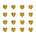 Стразы клеевые Золотые сердечки, 5 мм, 16 штук, Knorr prandell