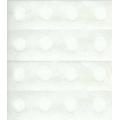 Двухсторонний скотч, клейкие белые кружки, 10 мм, Knorr prandell (Германия)
