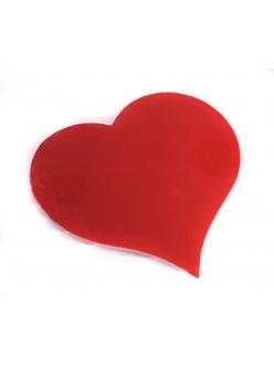 """Фигурка из картона """"Сердце"""", цвет красный блестящий, 20 шт., Knorr Prandell"""