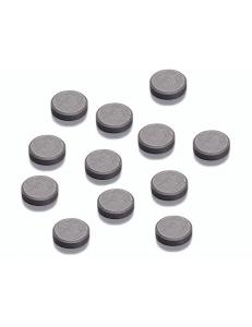 Магниты в форме шайбы, 3х12 мм, 12 шт., Knorr prandell (Германия)
