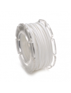 Вощеный шнур 0,6мм, на блистере, цвет белый, 10 м, Knorr prandell (Германия)