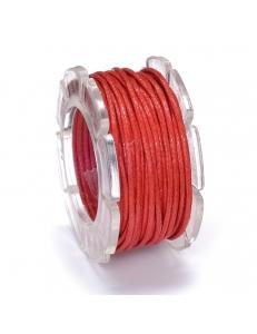 Вощеный шнур 1 мм, на блистере, красный, 5 м, Knorr prandell (Германия)