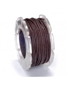 Вощеный шнур 1 мм, на блистере, коричневый, 5 м, Knorr prandell (Германия)