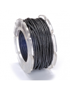 Вощеный шнур 1 мм, на блистере, цвет черный, 5 м, Knorr prandell (Германия)