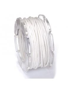Вощеный шнур 1 мм, на блистере, белый, 5 м, Knorr prandell (Германия)
